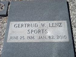 Gertrud W. Sports