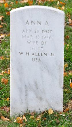 Ann A Allen
