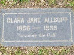 Clara Jane <i>Baker</i> Allsopp
