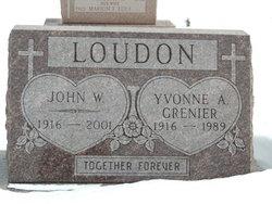 Yvonne Antoinette <i>Grenier</i> Loudon