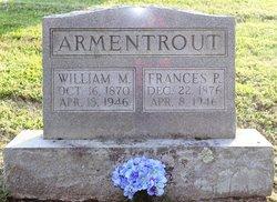 Frances Priest Fanny <i>Lantz</i> Armentrout