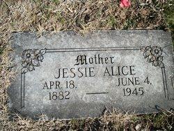 Jessie Alice <i>Bradley</i> Davis