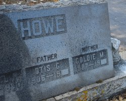 Goldie Milla <i>Howard</i> Howe