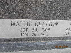 Mallie <i>Clayton</i> Spurlin