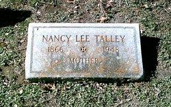 Nancy Lee <i>Webb</i> Talley