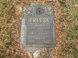Carol D Fritze