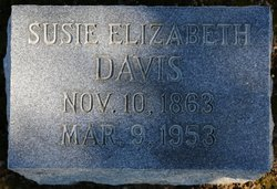 Susie Elizabeth Davis