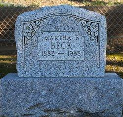Martha F Beck