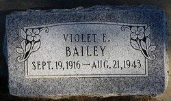 Violet E Bailey