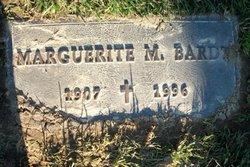 Marguerite M Bardt