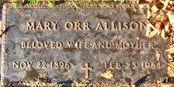Mary Lee <i>Orr</i> Allison
