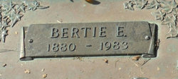 Bertie E. Bates