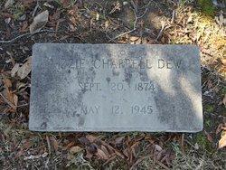 Mary Elizabeth Lizzie <i>Chappell</i> Dew