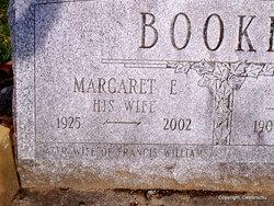 Margaret E <i>Wheeler</i> Booker Williams