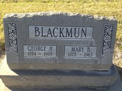 Mary B Blackmun