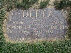 Bernard Lavern Fritz Deetz