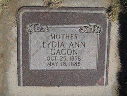 Lydia Ann <i>Taylor</i> Gagon