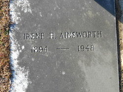 Irene <i>Hinton</i> Ainsworth
