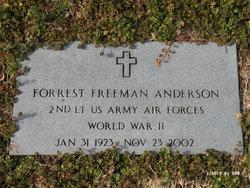 Forrest Freeman Anderson