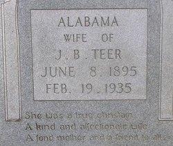 Alabama <i>Reisor</i> Teer