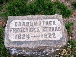 Johanna Fredericka <i>Zieman</i> Bernau
