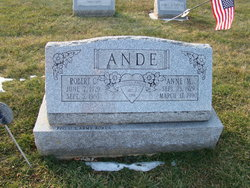 Anne M <i>Spencer</i> Ande