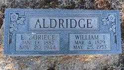 William I Aldridge