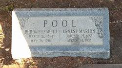 Rhoda Elizabeth <i>Morgan</i> Pool
