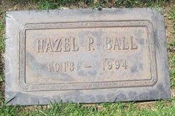Hazel P. <i>Parker</i> Ball