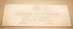 Sgt Joseph Brannon