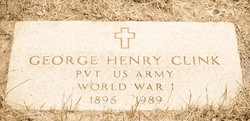 Pvt George Henry Clink