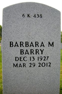 Barbara M. <i>Hurley</i> Barry