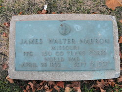 James Walter Narron