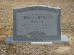 Thomas Jefferson Ables