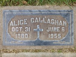 Alice <i>Ormsby</i> Callaghan