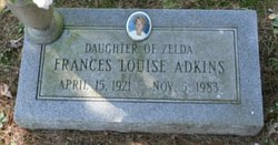 Frances Louise Adkins