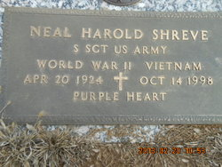 Neal Harold <i>Bebe</i> Shreve