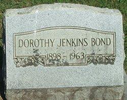 Dorothy Hambleton <i>Jenkins</i> Bond