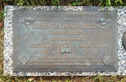 Johnny Thomas Allen
