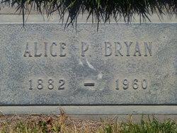 Alice P. <i>McPherson</i> Bryan