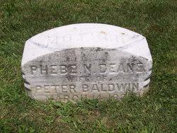 Phebe Maria <i>Dean</i> Baldwin