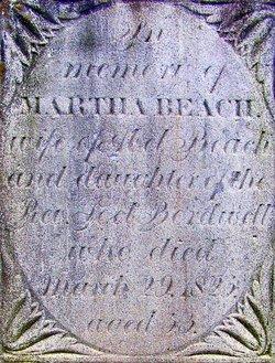 Martha <i>Bordwell</i> Beach