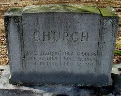 Lola G. <i>Giddens</i> Church
