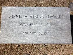 Sarah Cornelia <i>Atkins</i> Edwards