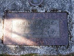 Edith M Burke