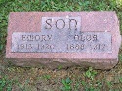 Olga Marie <i>Johnson</i> Son