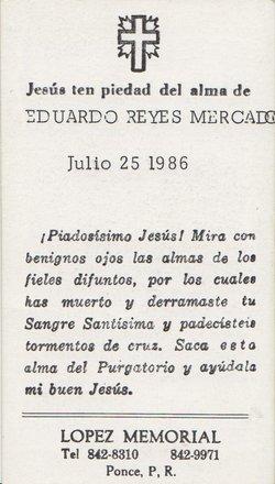 Eduardo Manuel Reyes Mercado