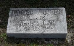 Mrs Eva Lillian <i>Whilden</i> Dukes