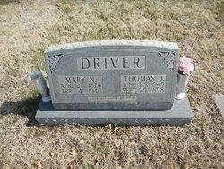 Mary Angeline <i>Napier</i> Driver