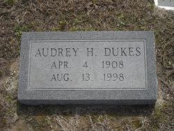 Audrey Hext Dukes